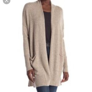 Griffin NWOT Open Front Cashmere Cardigan